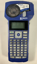 Brady Bmp21 Handheld Label Printer With Partial Label Roll Tested Working