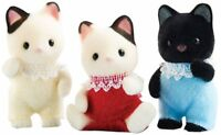 Calico Critters Tuxedo Cat Triplets , New, Free Shipping