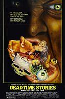 Deadtime Stories Movie Poster (1986) Slasher/thriller