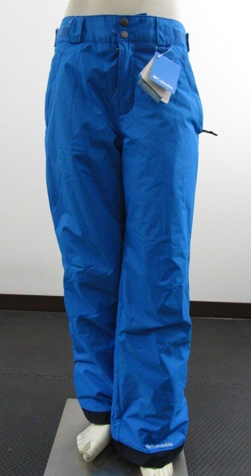 NWT Mens Columbia Arctic Trip Insulated Waterproof Snow Ski Pants Compass bluee
