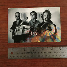 FLAMING LIPS Soft Bulletin POSTCARD promo Making Of I AM NOT ON DRUGS YET rare