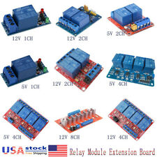 512v 1248 Channel Relay Board Module Optocoupler Led For Arduino Pic Arm Avr