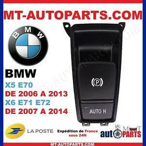 Bouton frein de parking frein a main BMW X5 E70 DE 2006 A 2013-61319156133 Interieur Knoppen, schakelaars