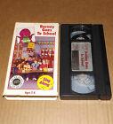 Barney - Barney Goes to School VHS video
