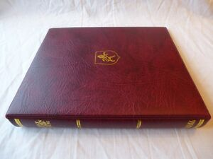 STANLEY GIBBONS GREAT BRITAIN & COMMONWEALTH LUXURY RING ALBUMS, VG CONDITION