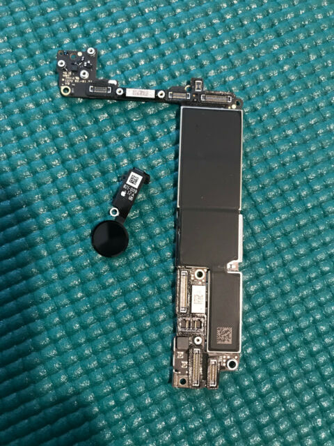 Apple iPhone 7 128GB matt black unlocked GSM logic board original home button