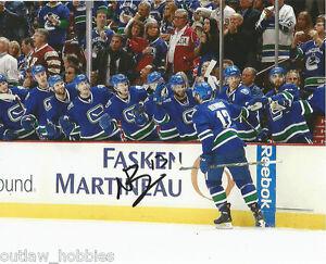 Vancouver-Canucks-Nick-Bonino-Autographed-Signed-8x10-Photo-COA-C