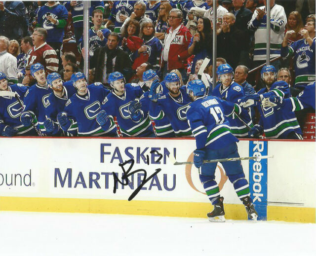 Vancouver Canucks Nick Bonino Autographed Signed 8x10 Photo COA C