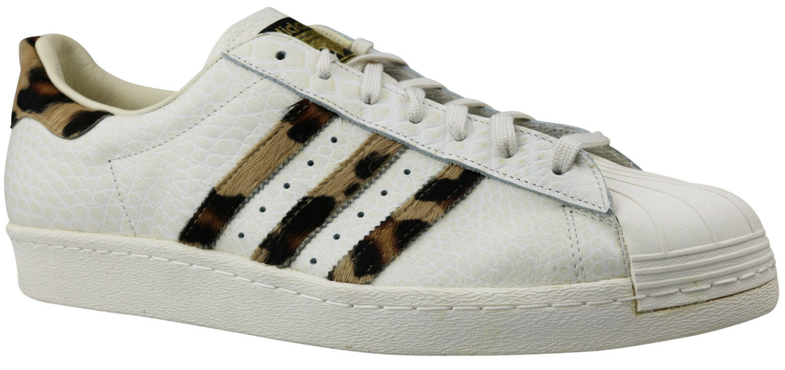 super popular 66b4a 63252 Adidas Superstar 80 S Animal s78955 Hommes Sneaker Sneaker Sneaker  Chaussures T 48 48,5 49 NOUVEAU   NEUF dans sa bo te   Pour Gagner L éloge  Chaleureux De ...