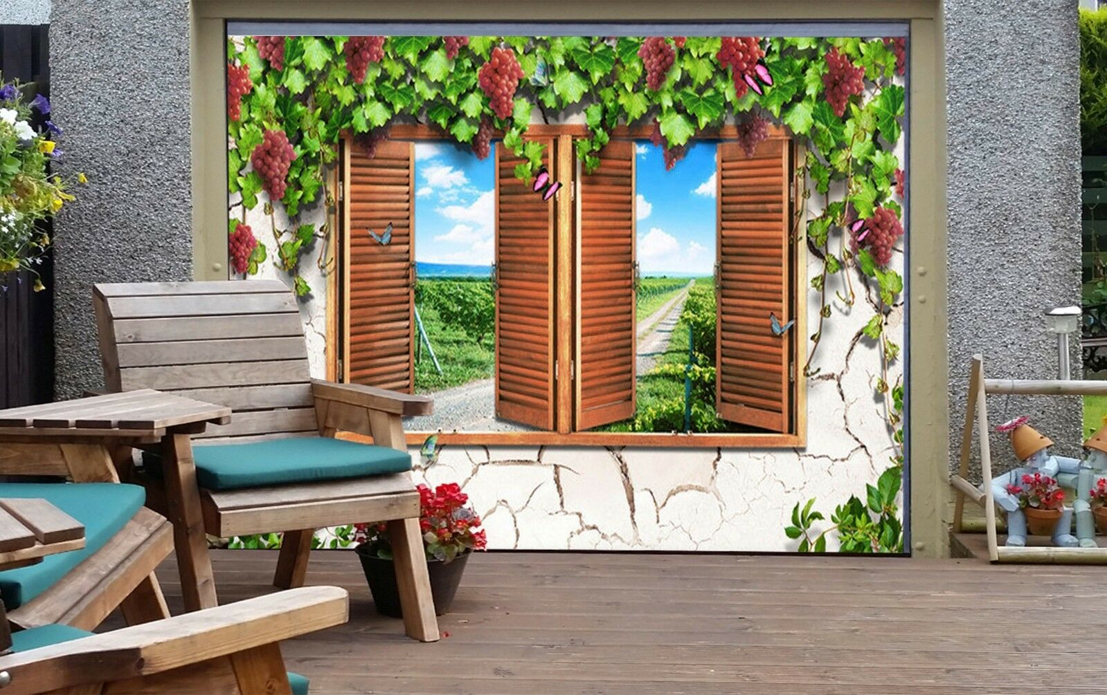 3D Nice path 44 Garage Door Murals Wall Print Decal Wall Deco AJ WALLPAPER UK