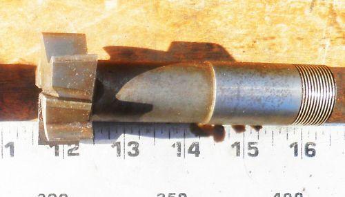 """T-Slot Cutter 1 3//4 x 13//16/"""" 1/"""" threaded shank BSA"""