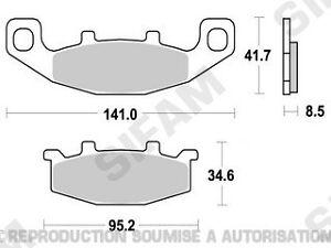 Plaquettes-de-frein-avant-Suzuki-GS-500-E-1988-a-1995-gse-S1004A