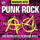 Massive Hits! Punk Rock [Box] by Various Artists (CD, Mar-2013, 3 Discs, EMI)