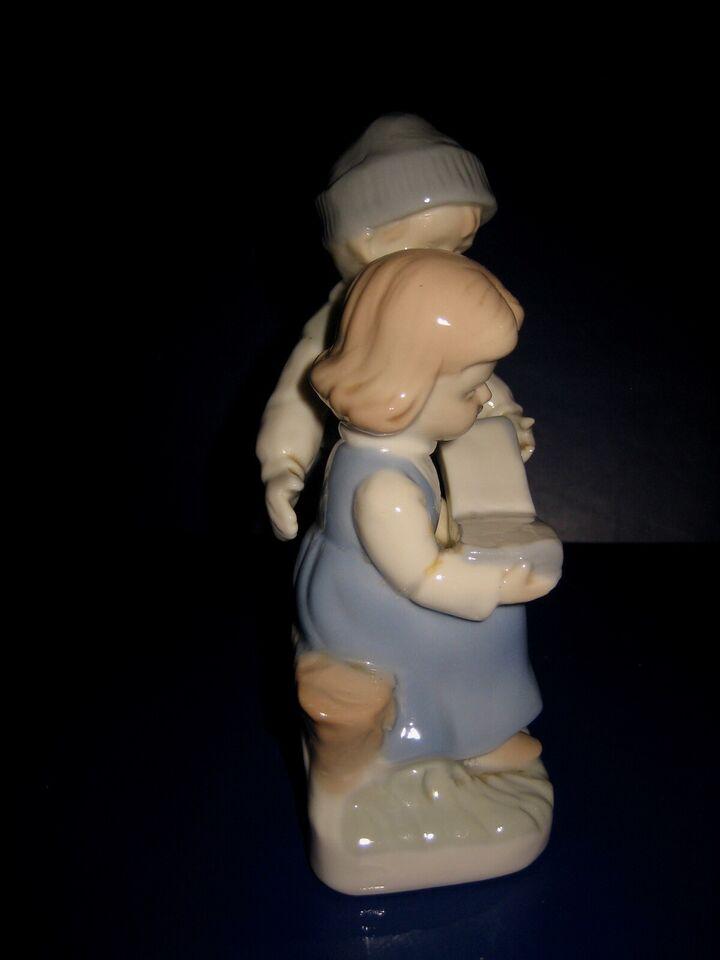 Figurer, Porcelæns figur