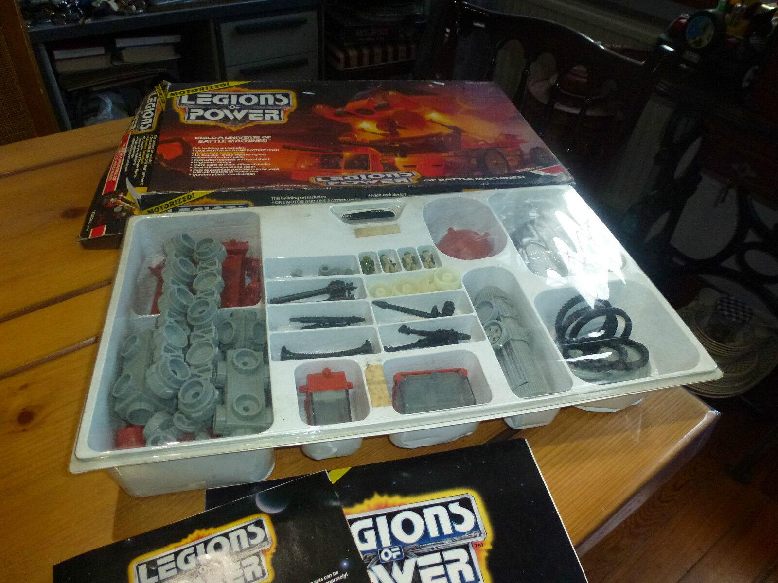 Boite de construction, Legions of power, Commandos of Konn, Tonka ref. 8150