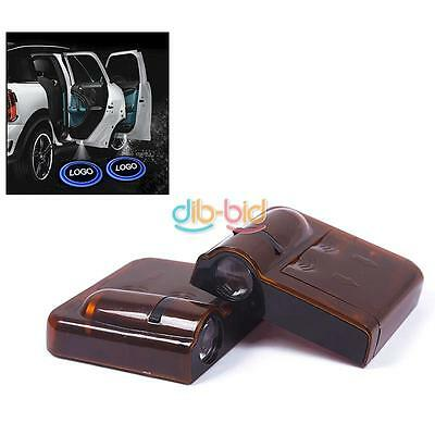 New 1Pair Wireless Shadow Car Door LED Welcome Laser Projector Logo Light Useful
