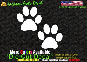 Funny I Love Doggie Feet Sticker Decal