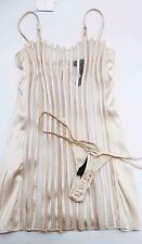 LA PERLA  Women's Underwear SilkTop Night dress Gown Pyjamas +slips size 3  650$