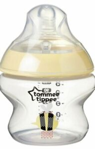TOMMEE TIPPEE CLOSER TO NATURE UNISEX BOTTLE 150ML 5OZ BABY BOTTLE