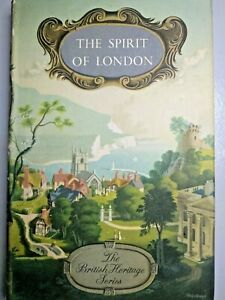 Book-The-Spirit-of-London-Cohan-Portheim-Batsford-Third-Ed-1950