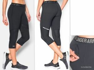 6d21828b0a NWT $60 UNDER ARMOUR UA HeatGear CoolSwitch Capri Tights Size Small ...