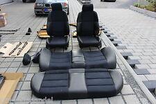 BMW E36 Innenausstattung Sportsitze Sitze schwarz/blau Sport Teilleder Limousine