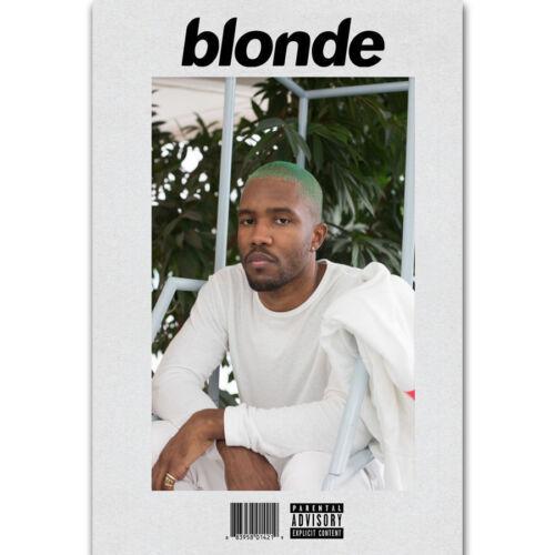 24x36Inch Art New Frank Ocean Blonde Rap Music Star Silk Poster P-40