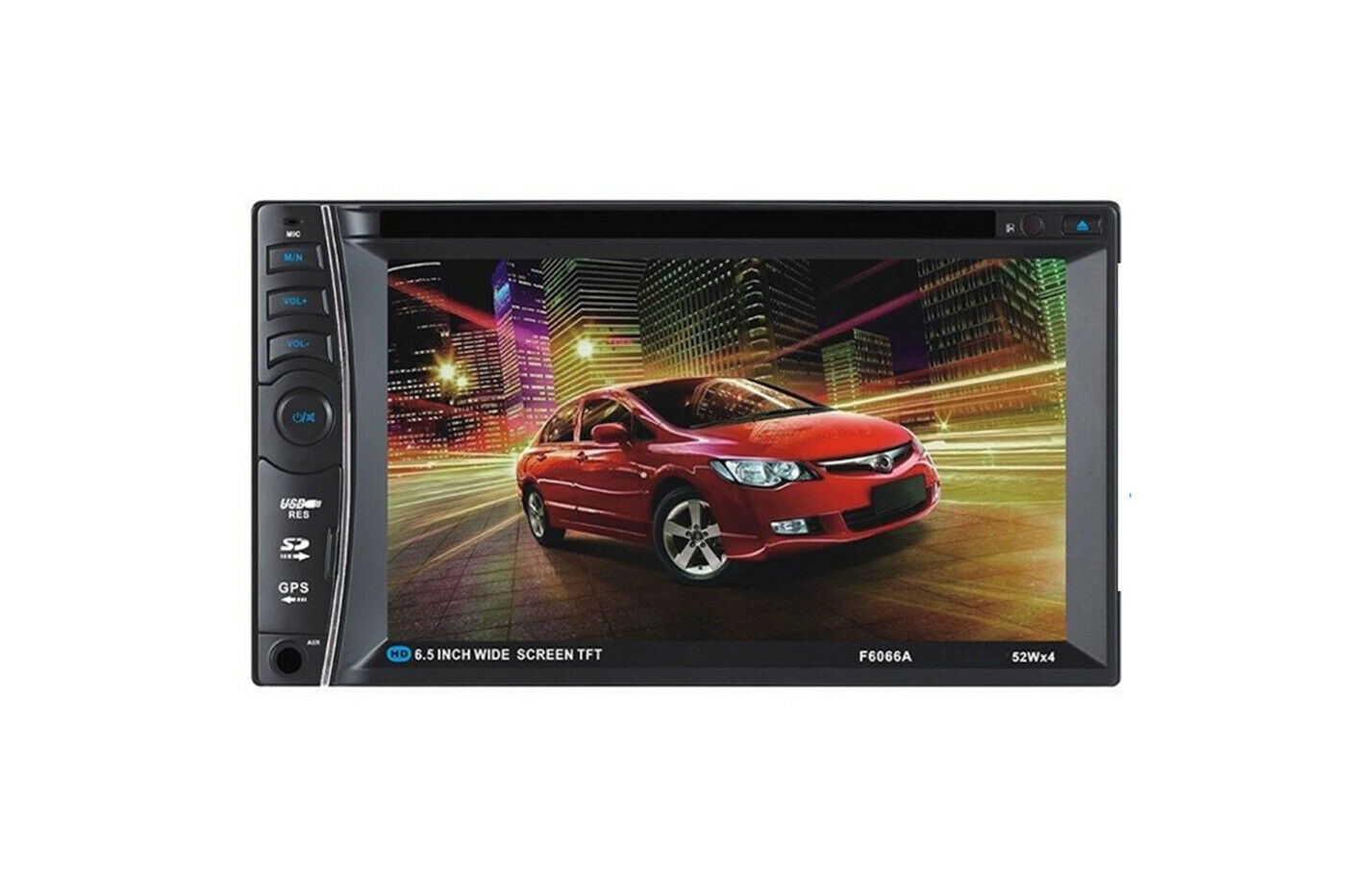 autoradio: Stereo autoradio 2 Din Autoradio Touch Screen 6.5 Bluetooth Stereo dvd dvx 31246