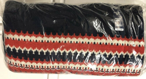 2X-Large Peacoat Details about  /NEW IZOD Men/'s Big and Tall Fairisle 5 Gauge Crewneck Sweater