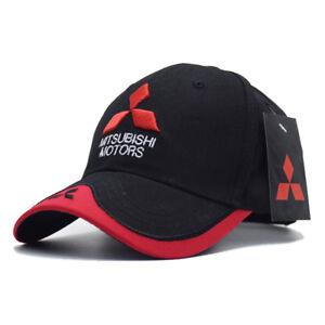 f0c86f40d9a Image is loading Mitsubishi-logo-Racing-Baseball-Cap-Hat-Motorsport-sport-