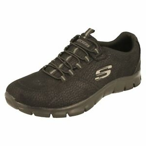 Ladies Take Charge Textile Trainers With Elasticated Lace By Skechers