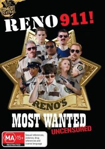 Reno-911-Most-Wanted-Uncensored-DVD-2011-2-Disc-Set-free-postage