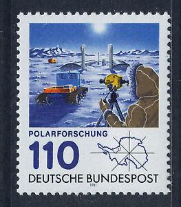 ALEMANIA-RFA-WEST-GERMANY-1981-MNH-SC-1353-Polar-research-station