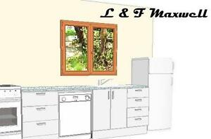 Complete-Kitchen-with-polyurethane-door-cabinet-caesar-stone-bench-top
