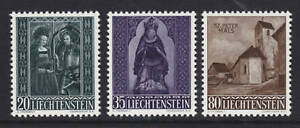 Liechtenstein Sc 329-331 MNH. 1958 Christmas, cplt set, VF
