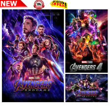 New Avengers Endgame Fabric Poster IMAX Movie 2019 Film End Game X-141