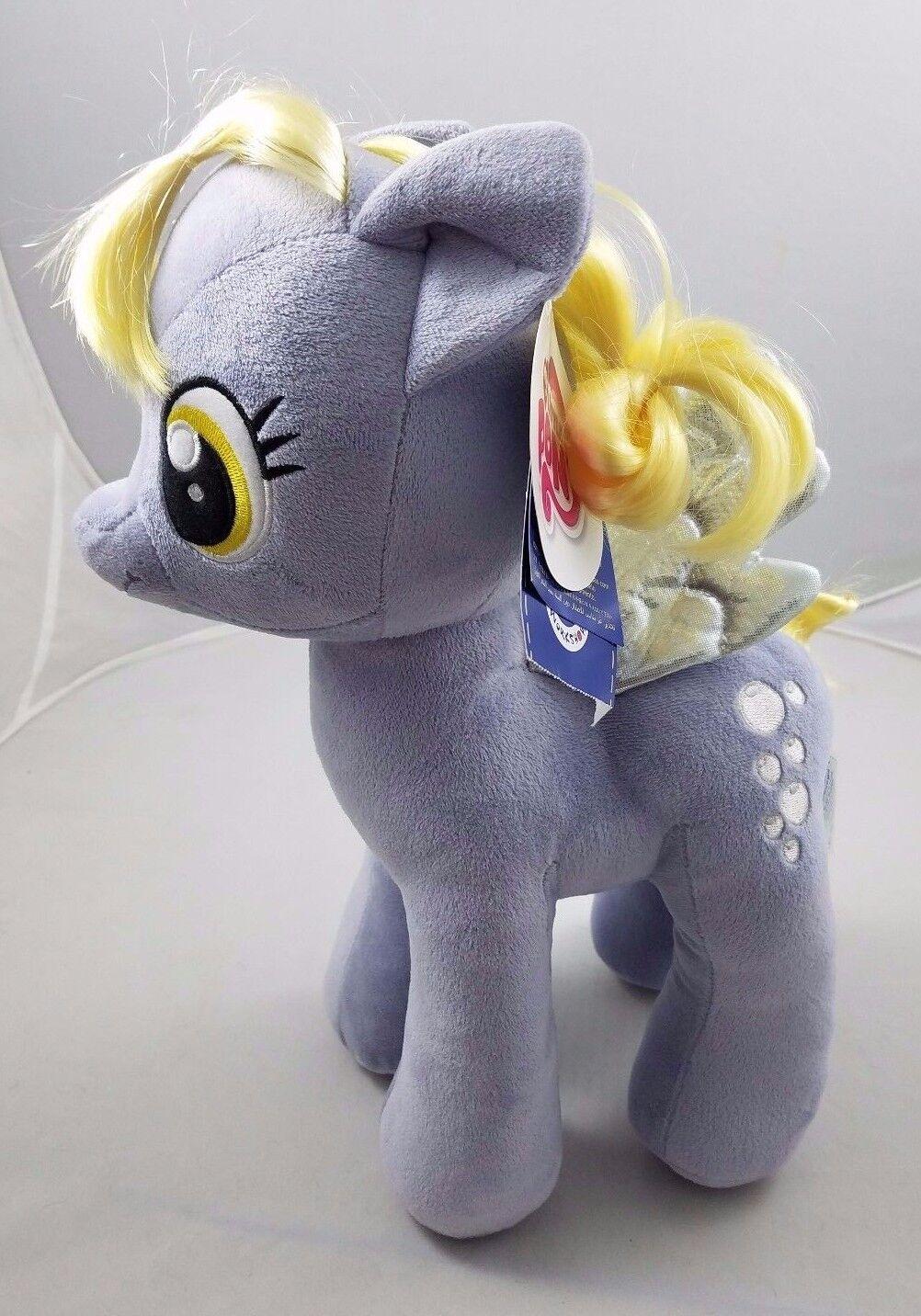 Nwt Build a Orso Mlp My Little Pony Muffin Imbottita Grigio Horse BABW Bab Bolle