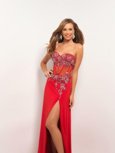 75% off Long Prom Dress Blush 9505 Color: Valentin