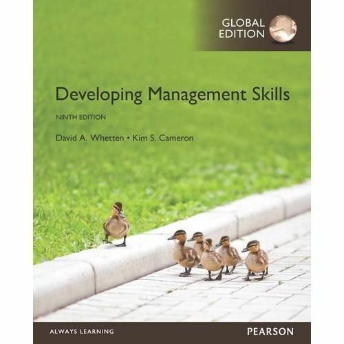 1 of 1 - Developing Management Skills, Global Edition, Cameron, Kim S., Whetten, David A,