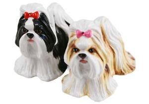 Shih Tzu Gift, Cruet Set Handmade by