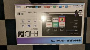 "Sharp LED Smart 1080p 40/"" Class HDTV Roku TV"