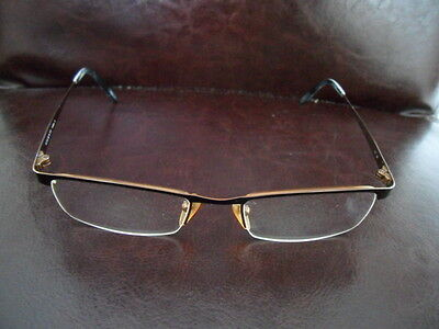 Besorgt Brillengestell Aus Metall Braun/kupferfarben Vicenti 115304 Mit Putztuch