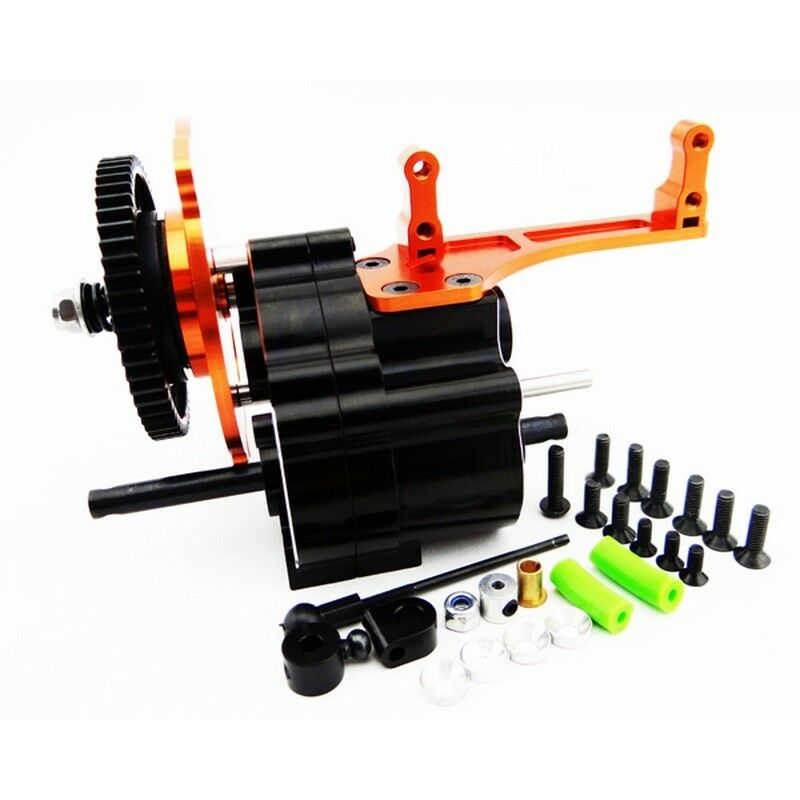 Hot Racing WRA38TP03 Axial SCX10 Aluminum 2-Speed Transmission (Long Output)
