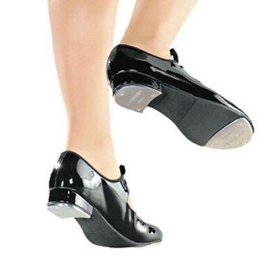 So Danca TA35 Black Toddler Child Size 10 Medium Classic Tie-Up Tap Shoes