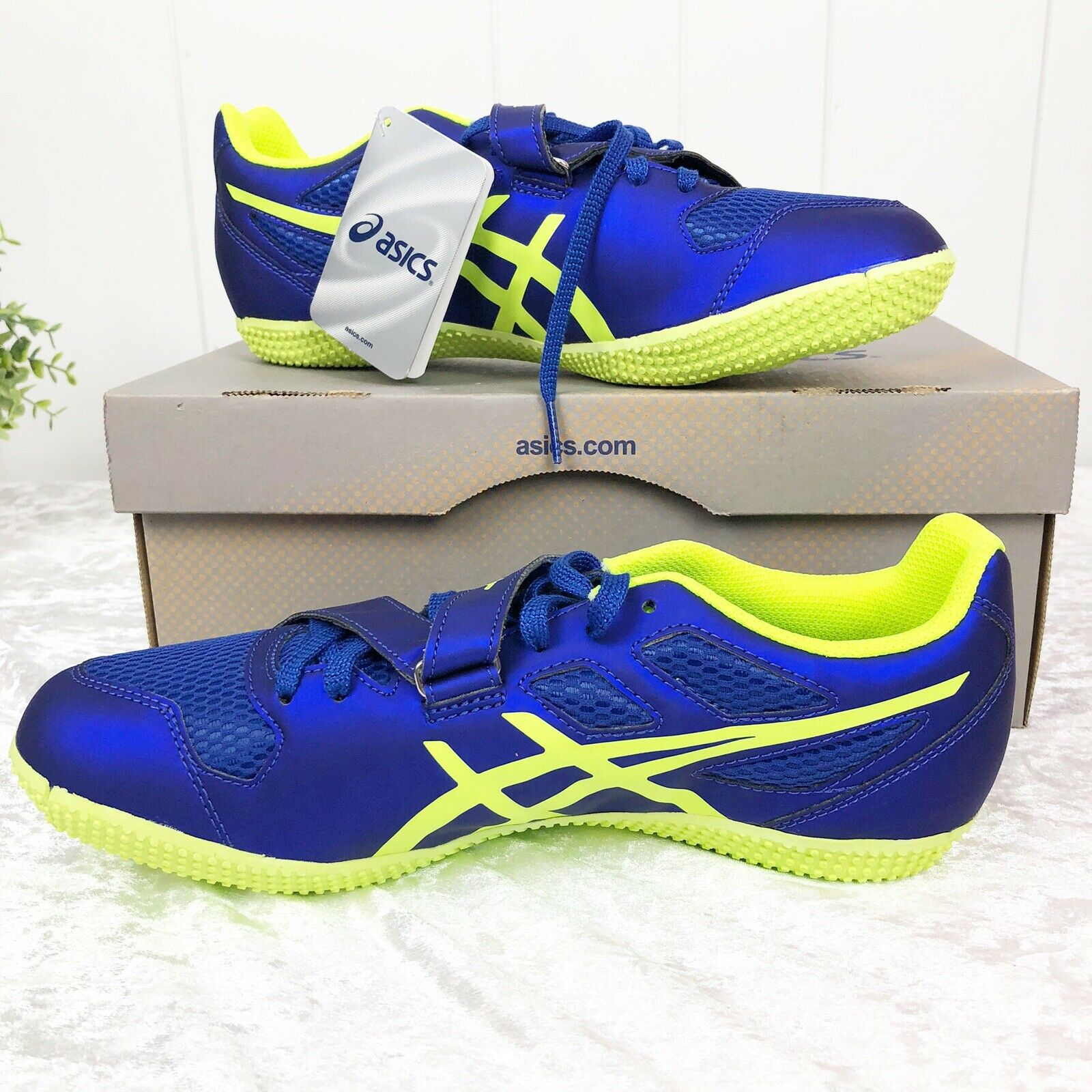 ASICS Turbo High Jump 2 Discontinued Track Tennis shoes shoes shoes 8.5 325917