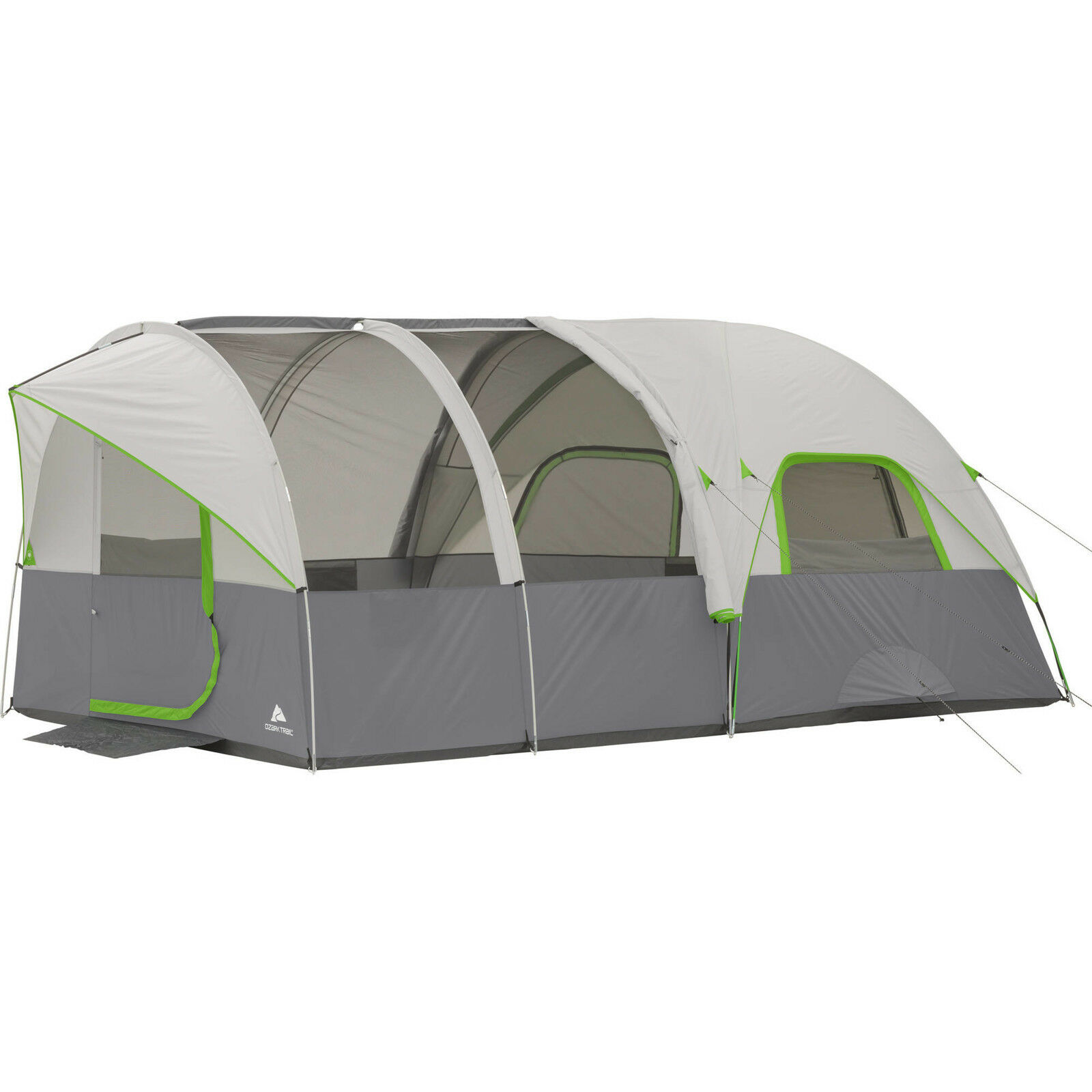 Large Family Sleeping Tent Dome Tunnel Camping Cabin Tents Airflow Panel Shelter