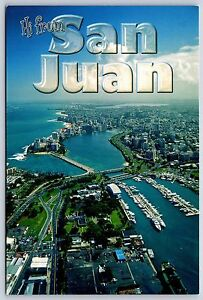 Aerial view greetings from san juan puerto rico continental image is loading aerial view greetings from san juan puerto rico m4hsunfo