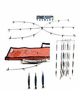 Punto de huelga Tackle 24  Draga & Tiras De Pescado De Plata Kit de intriga
