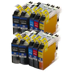 10-Druckerpatronen-XXL-fuer-den-Brother-LC223-LC225-XL-DCP-J4120-DW-MFC-J4420-DW