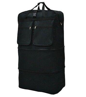 "40"" Black <b>Rolling Wheeled</b> Duffle <b>Bag Spinner Suitcase Luggage</b> ..."